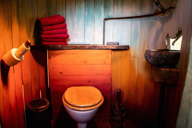 WC im Baumaquarium