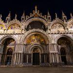 Basilica San Marco (Markusdom), Venedig bei Nacht