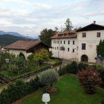 Blick auf Versorgungshaus Tisens, Südtirol