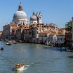Canal Grande von der Ponte dell'Accademia aus Richtung Süden