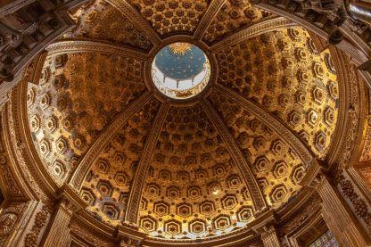 Prachtvolle Domkuppel in Siena