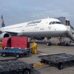 Lufthansa Airbus A321 in Berlin
