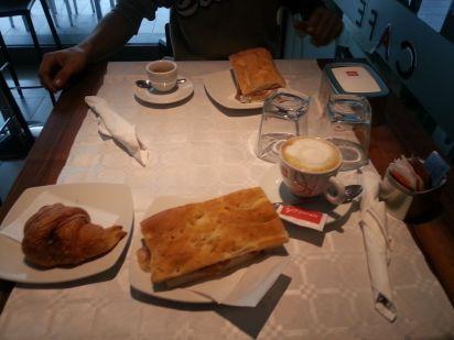 Parma Frühstück