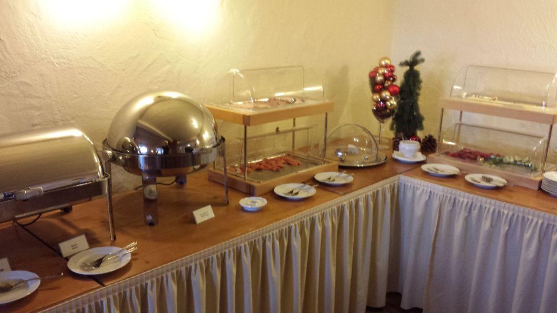 Hotel Schloss Berg Frühstück