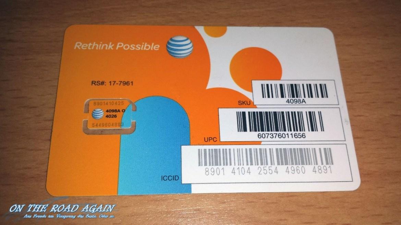 AT&T PrePaid Simcard