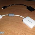 Samsung USB Host und HDMI Adapter