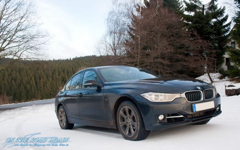 BMW 335d xDrive im Schnee