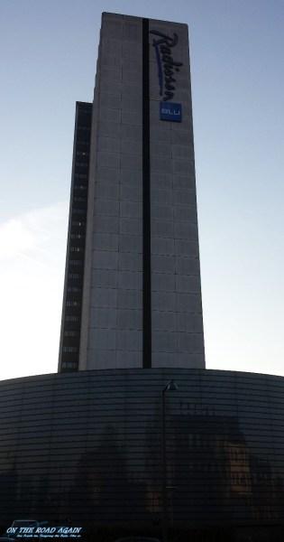Radisson Blu Kopenhagen Gebäude