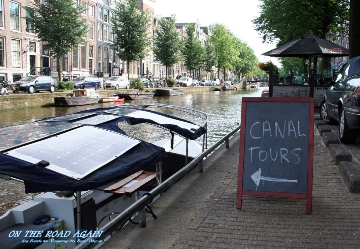 Canal Tours Amsterdam