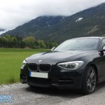 BMW M135i xDrive in Lauerstellung