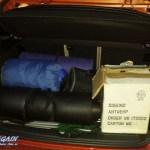 1er BMW mit vollem Kofferraum