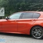 BMW M135i auf Kyffhäuserabfahrt