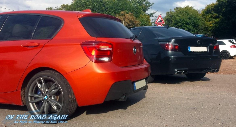 BMW M135i und BMW M5 E60