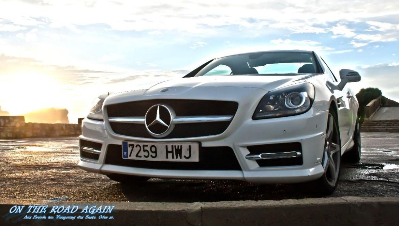 Mercedes-Benz SLK Cabrio Front