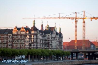 Baukräne in Kopenhagen