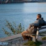 Der alte Mann und der Kanal