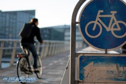 Fahrradbrücke in Kopenhagen