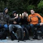 Manu, Matthias, William und Robert in Kopenhagen