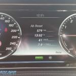 Mercedes-Benz S-Klasse Tacho Durchschnittsverbrauch