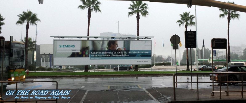 Am Flughafen Lissabon