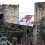 Burgzinnen Castelo Sao Jorge