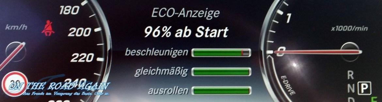 Mercedes-Benz S-Klasse Eco-Anzeige