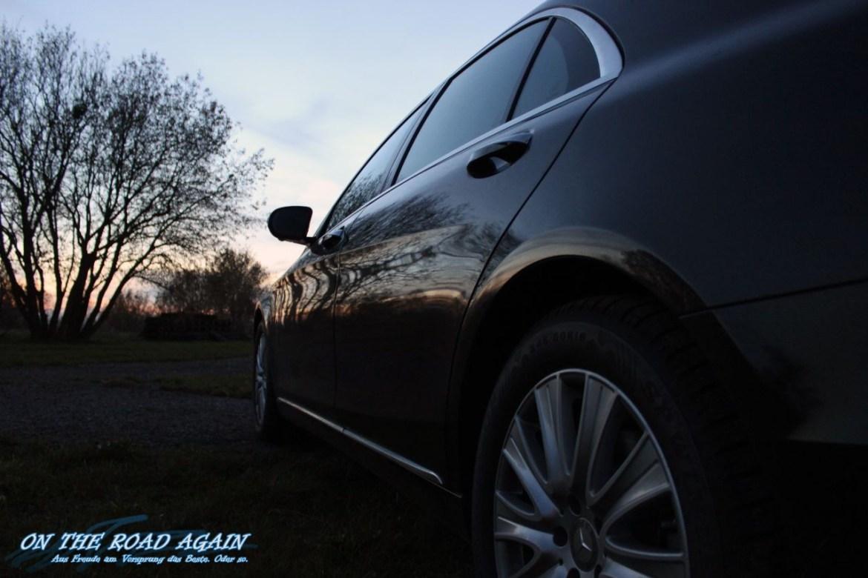 Mercedes-Benz S-Klasse W222 Seitenlinie