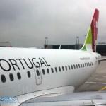 TAP Portugal Flieger am FRA