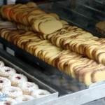 Gebäck in einer Pasteleria in Lissabon