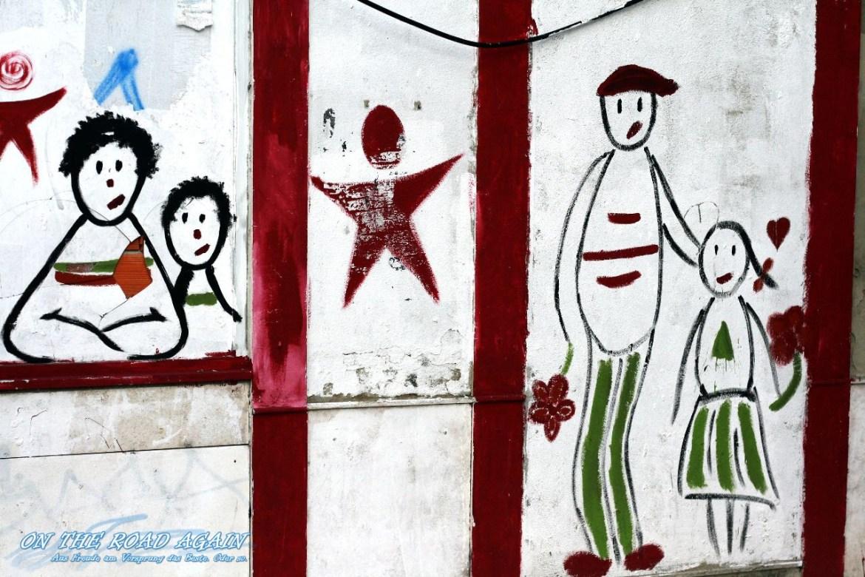 Grafiti Comic in Lissabon