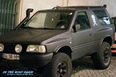 Pirate Car in Lisboa