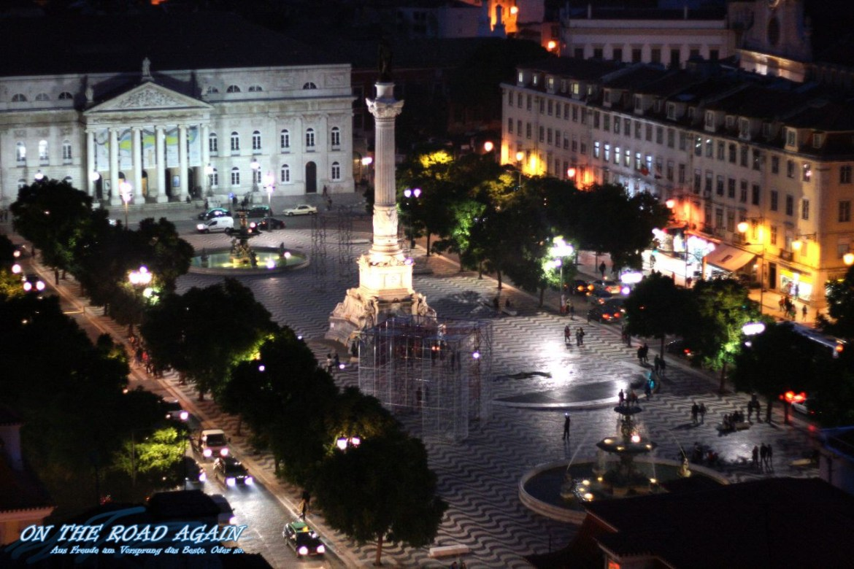 Rossio - Praca de Dom Pedro iv Lissabon