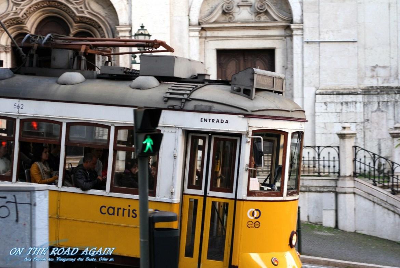 Tram 28 in Lissabon
