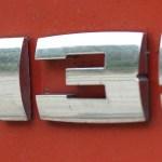 BMW M135i Emblem