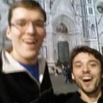 Team Ultra an der Kathedrale in Florenz