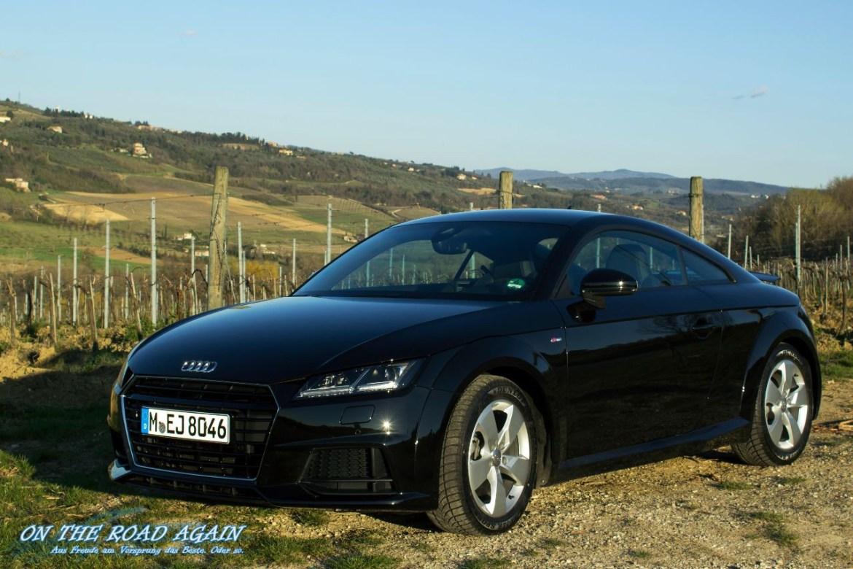 Audi TT 2.0 TDI ultra in der Toskana