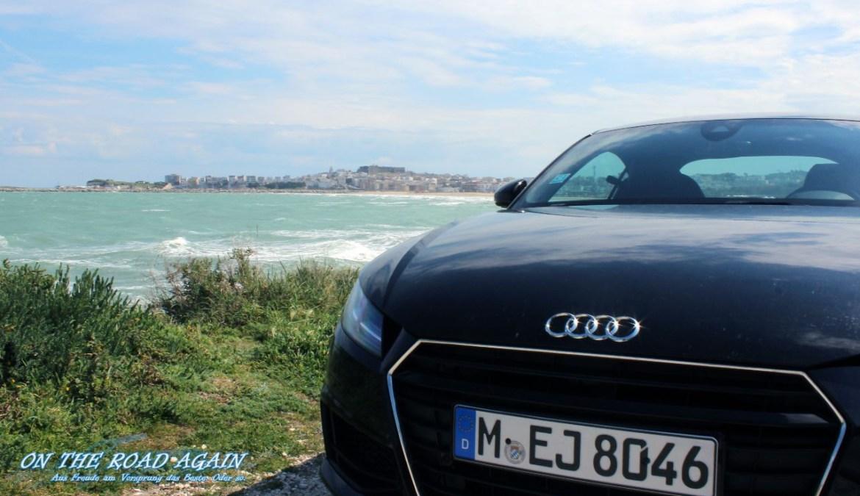 Audi TT an der Adriaküste