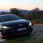 Audi TT beim Kurvenräubern