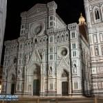 Kathedrale von Florenz bei Nacht