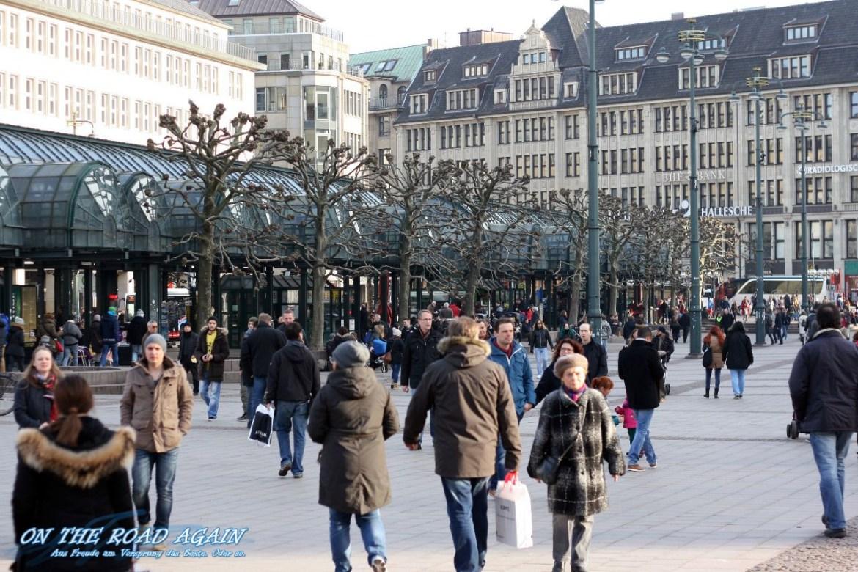 Rathausmarkt in Hamburg