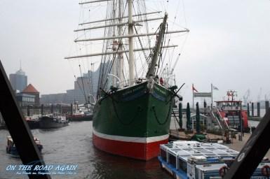 Rickmer Rickmers im Hamburger Hafen