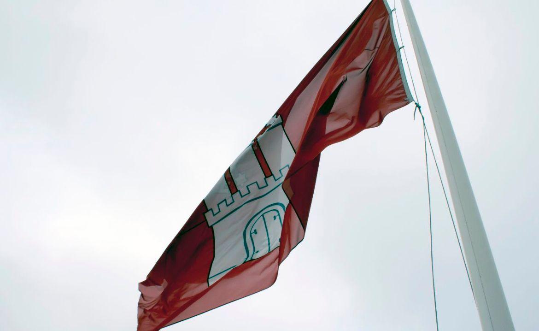 Stadtflagge Hamburg