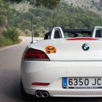 BMW Z4 Cabrio in den Bergen