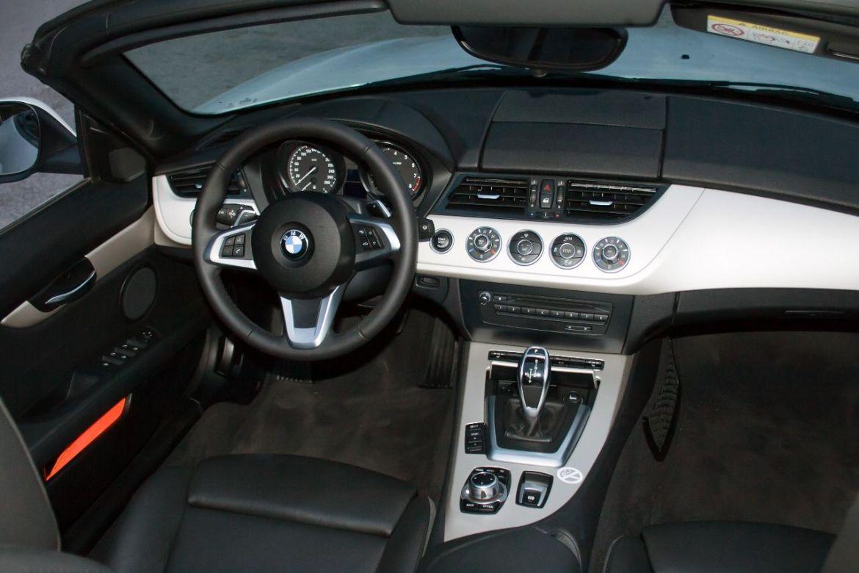 BMW Z4 Interieur offen