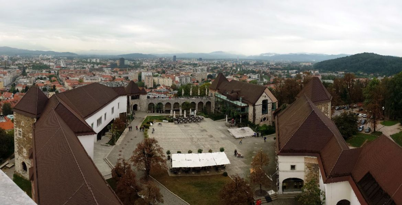 Burg Ljubljana Panorama