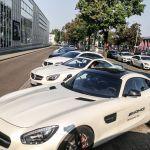 Fahrzeuguebersicht AMG Performance Tour 2015 Kopfperspektive