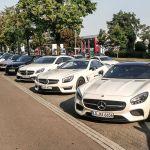 Fahrzeuguebersicht AMG Performance Tour 2015