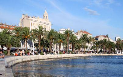 Hafenpromenade von Split