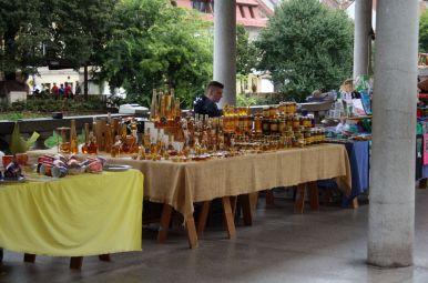 Honigverkäufer in Ljubljana