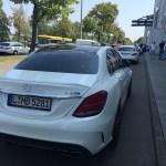 Mercedes-AMG C 63 S Heckdarstellung